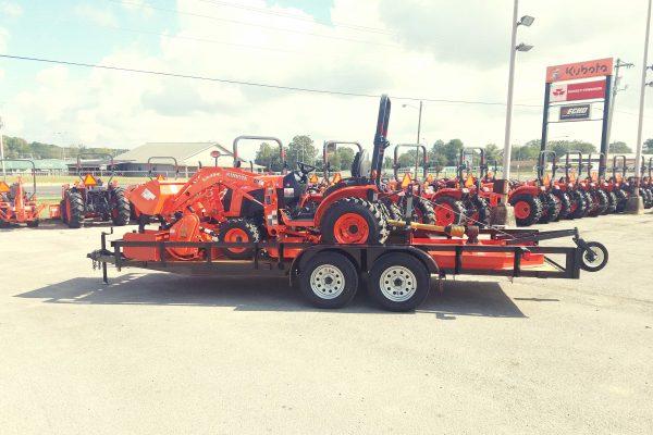 kubota B2601 HST 19 Tractor