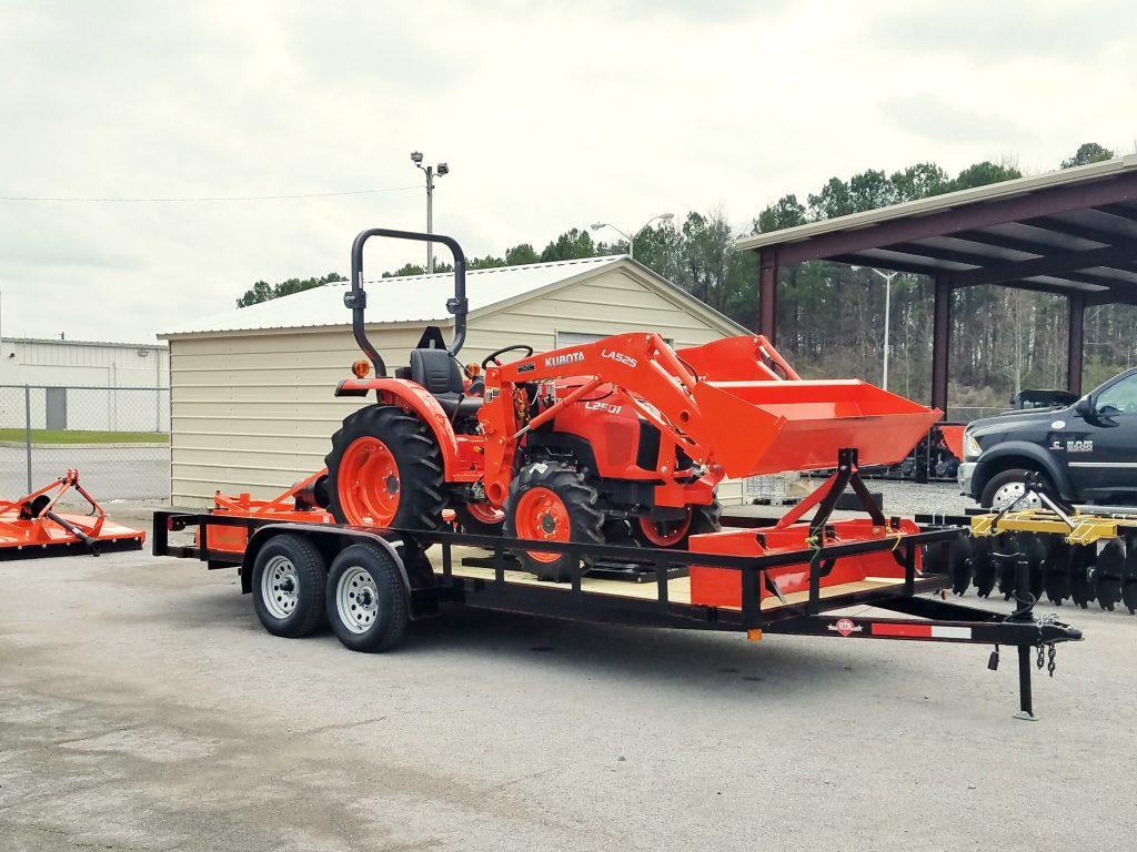 kubota L2501DT 9 Tractor