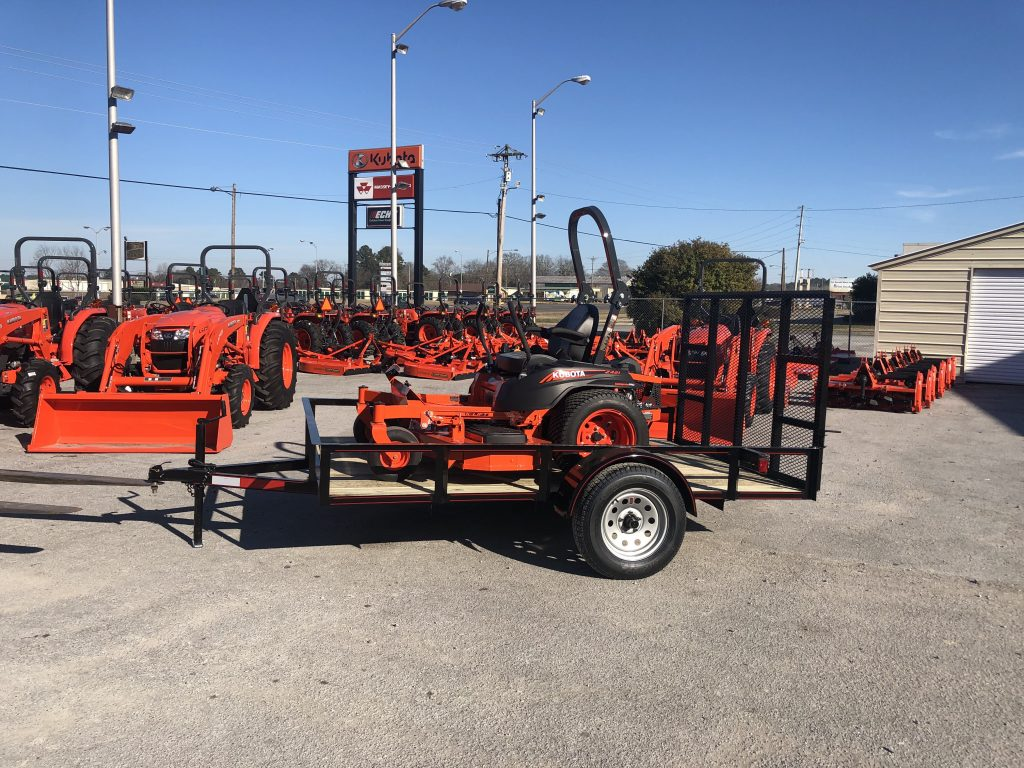 kubota Z421 60 package Z4 Mower