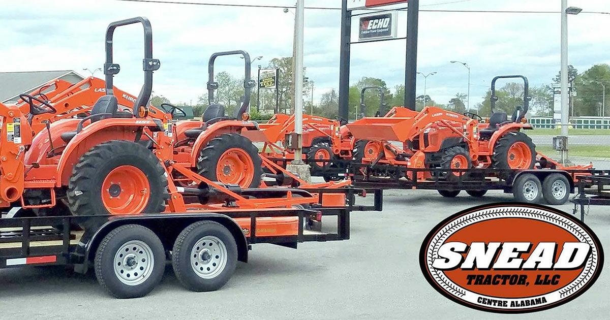 About Us   Northeast AL's Elite Kubota Dealer   Snead Tractor